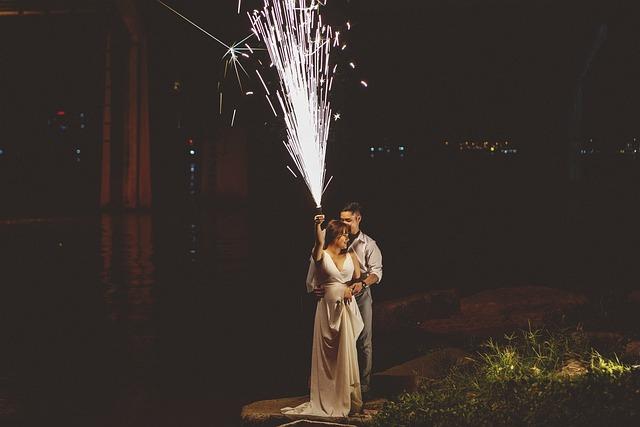 fumigenes pour votre fete de mariage